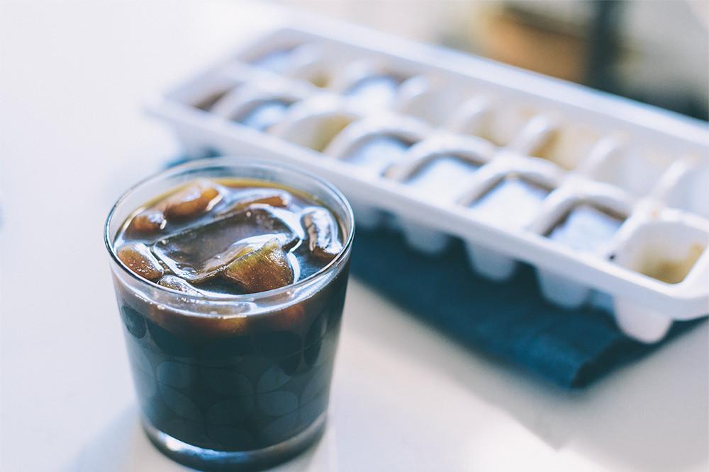 Life hacks koffie-ijsblokjes